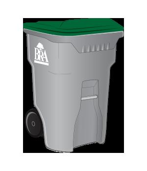 65 gallon container