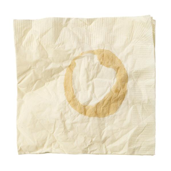 soiled napkin