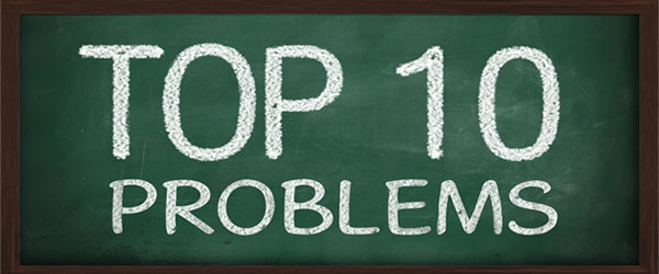 top 10 problems photo