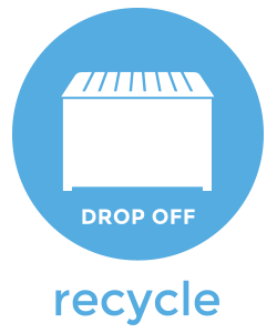 special recycled material icon