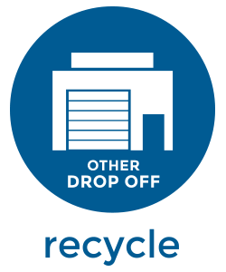 other dropoff recycled material icon