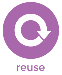 reuse product icon