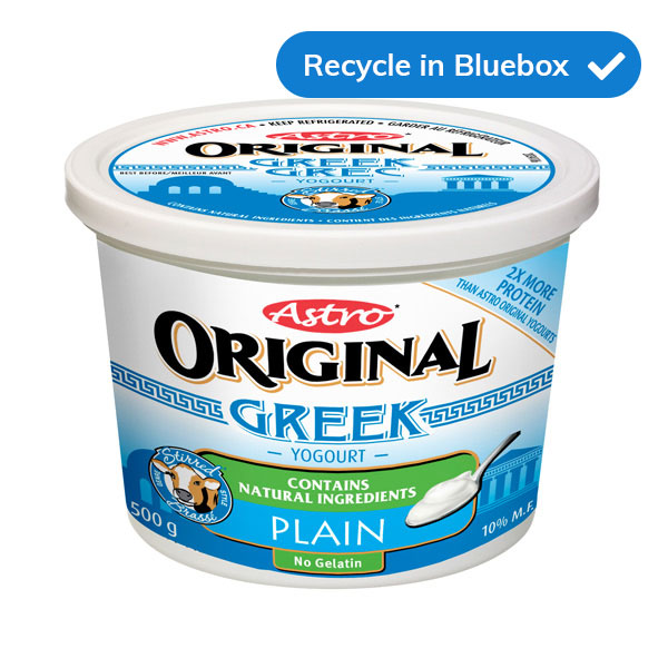 yogurt tubs