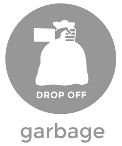 garbage dispose icon